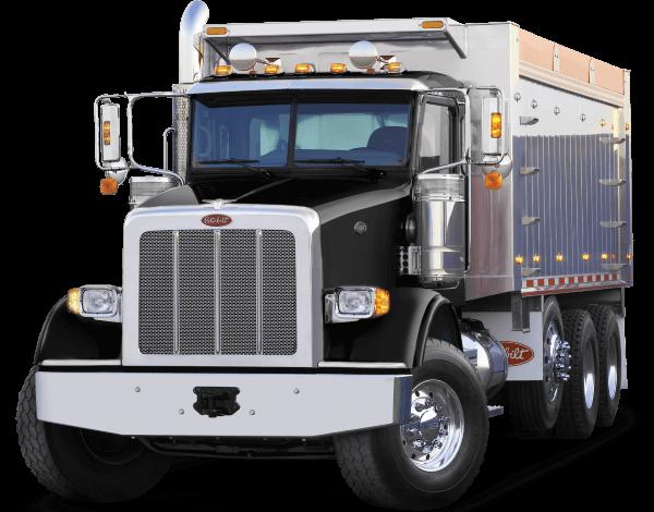 Dark Dump Truck