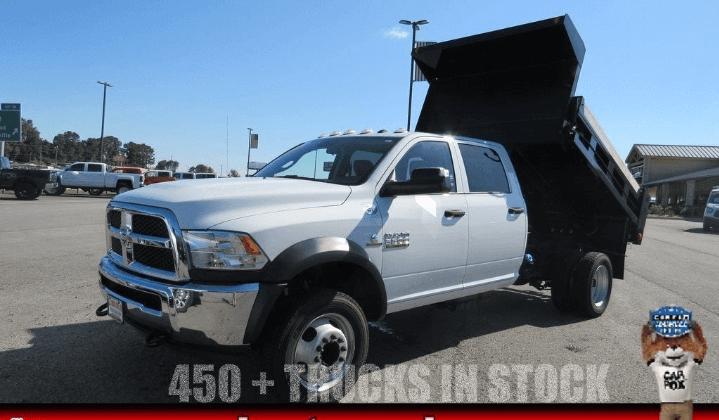 2018 RAM 5500 DUMP TRUCK