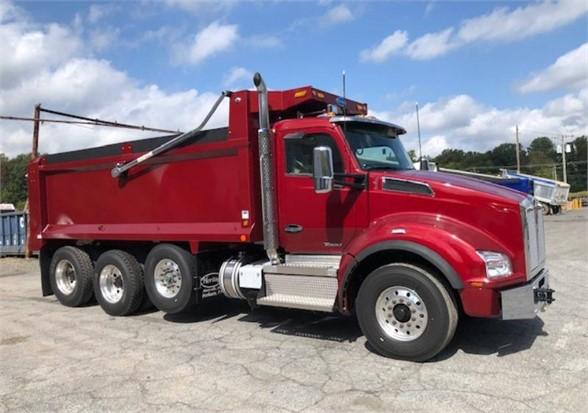 2021 KENWORTH T880 - Dump Truck Exchange