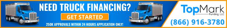 Dump Truck Financing Banner 728x90